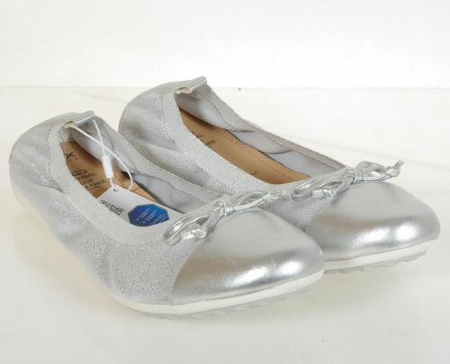 reduzierung GEOX Piuma D ballets Shi Goat Lea Silver