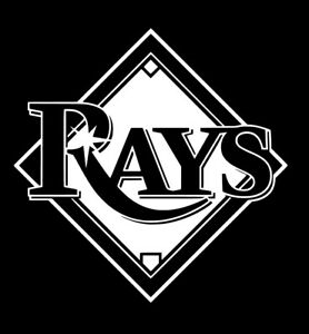 tampa bay devil rays baseball team logo mlb sticker decal vinyl raysup ebay ebay