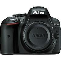 Nikon D5300 24MP HD Digital SLR Camera with 18-55mm Lens - Black