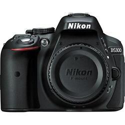 Nikon D5300 24MP HD Digital SLR Camera with 18-55mm Lens - Black
