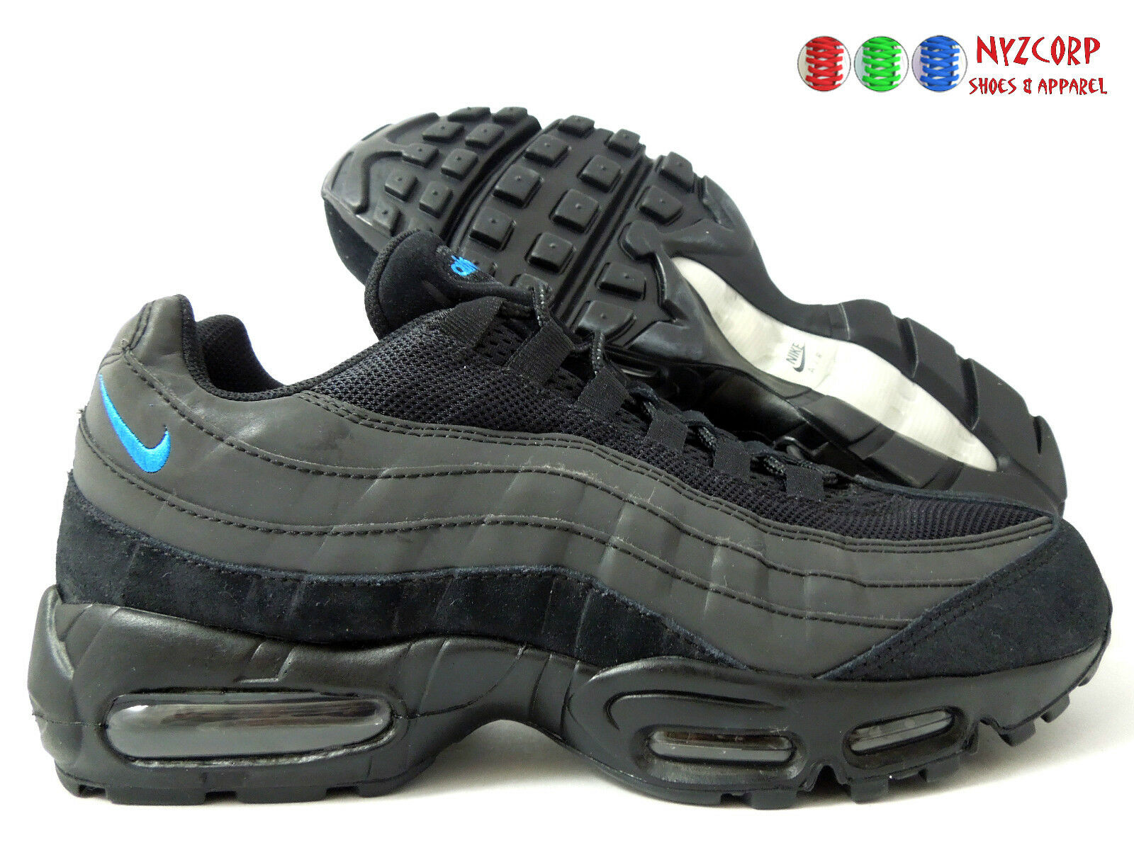 NIKE AIR MAX 95 iD [314350-996] BLACK-CHARCOAL GREY SZ 10 [314350-996] iD 6d06d4