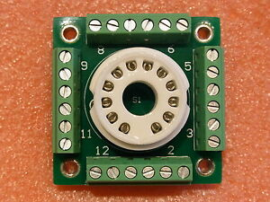 12-pin-compactron-breadboard-prototype-tube-socket-for-DIY-experimenting