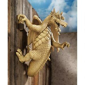 Design-Toscano-Dread-The-Dangling-Dragon-Wall-Sculpture-With-Faux-Stone-Finish