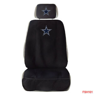 New Nfl Dallas Cowboys Car Truck Front Sideless Seat Cover