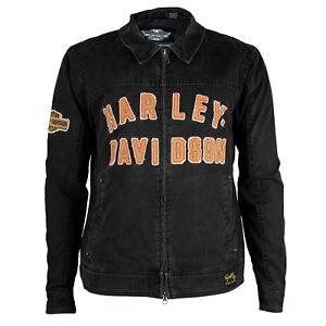 Harley-Davidson-Men-039-s-Becher-Garage-Jacket-98569-16VM