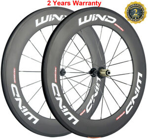 Carbon-Wheels-38-50-60-88mm-Road-Bike-Clincher-23mm-Width-Carbon-Wheelset-UD-Mat
