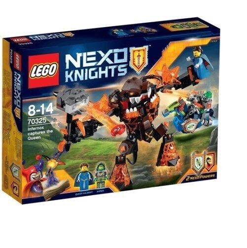 Lego 70325  Nexo Knights Infernox Captures the Queen NEW And Sealed.