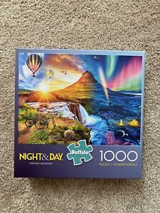 Lifes A Beach Buffalo Games 1000 Piece Jigsaw Puzzle Night /& Day Collection