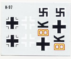 Revell-H-97-1-72-Messerschmitt-410-A-1-U-4-Decal-Sheet-107820