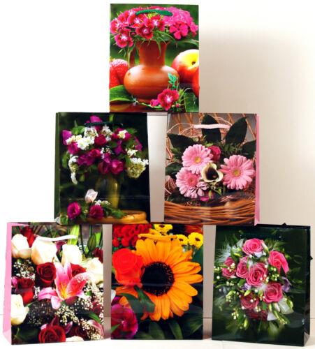 Geschenktüten Mini Blumenbeutel Blumentasche Geschenktasche Geschenkbeutel 696