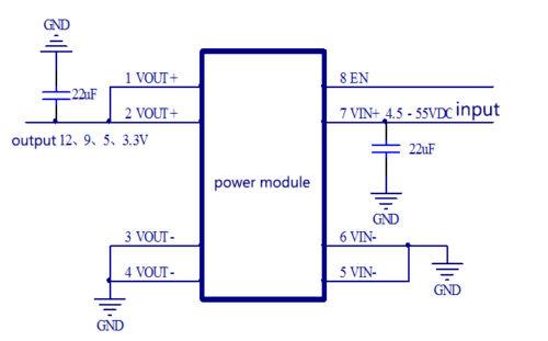 DC-DC Buck Step Down Converter Regulator Power Supply Module 3.3v 5v 9v 12v