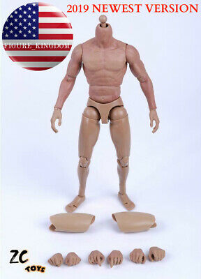 ZC Toys 1//6 Scale Muscular Male Nude Figure Body ver 3.0 TTM19 USA SELLER
