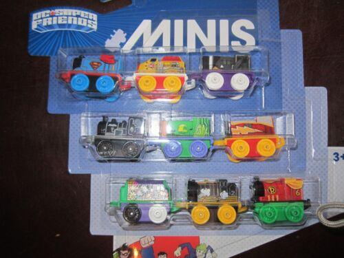 Thomas /& DC Super Friends Minis full set 17 pcs superman batman wonderwoman