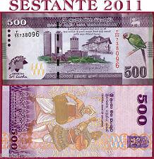 "SRI LANKA  -  500 RUPEES 2013 Commemorative ""CHOGM""  -     P 129  -   FDS / UNC"