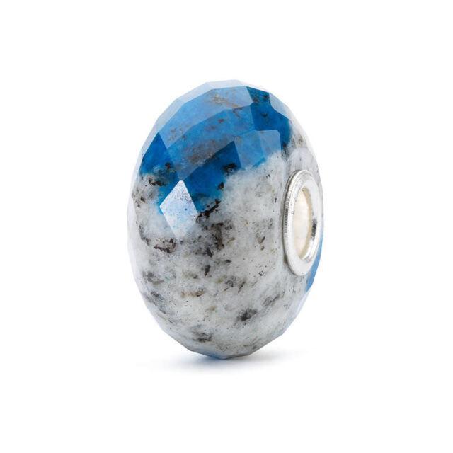 AUTHENTIC TROLLBEADS FELDSPAR AZURITE ROCK TSTBE-60002 AZZURRITE