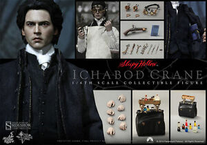 HOT-TOYS-SIDESHOW-1-6-SLEEPY-HOLLOW-ICABOD-CRANE-JOHNNY-DEPP-NUEVO-NEW