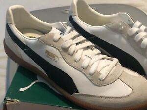 provide plenty of latest design vivid and great in style Details about Puma Super LIGA OG retro Men's US(9.5) Navy White/ Black Shoes