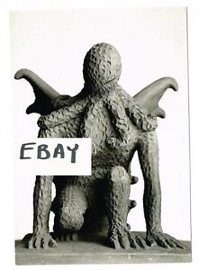 Image Is Loading H P LOVECRAFT CTHULHU STATUE PHOTO HORROR ACKERMAN FAMOUS