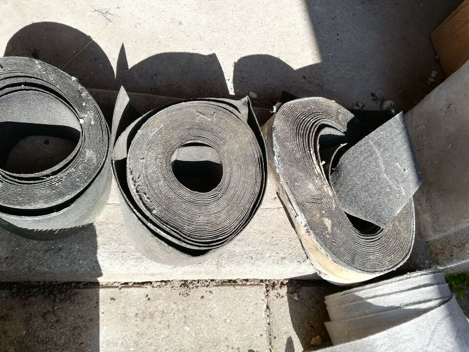 Tagpap, filt i rulle