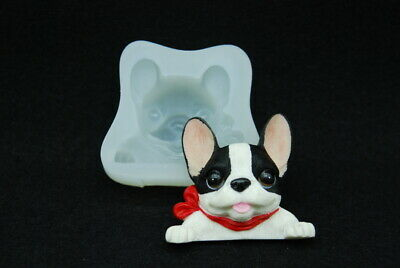 Bull Dog Face Polymer Clay Mold 0 S//H AFTER FIRST 1