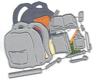Dies-to-die-for-metal-cutting-craft-die-Backpack-amp-school-supplies