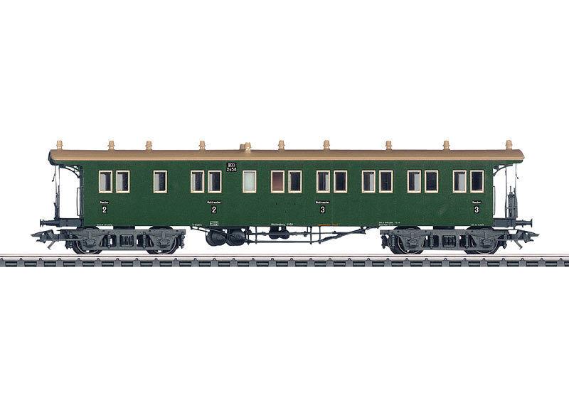 Märklin 42103 Schnellzug-Plattformwagen BCCi der W.St.E. 2 und 3.Klasse  NEU OVP