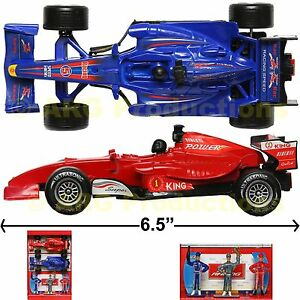 Formula 1 Racing Car Toy Set Of 2 Two F1 Track Race Figurine Light