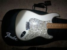 DIAMOND ANNIVERSARY FENDER STRATOCASTER MIM GUITAR! +gigbag strings strap