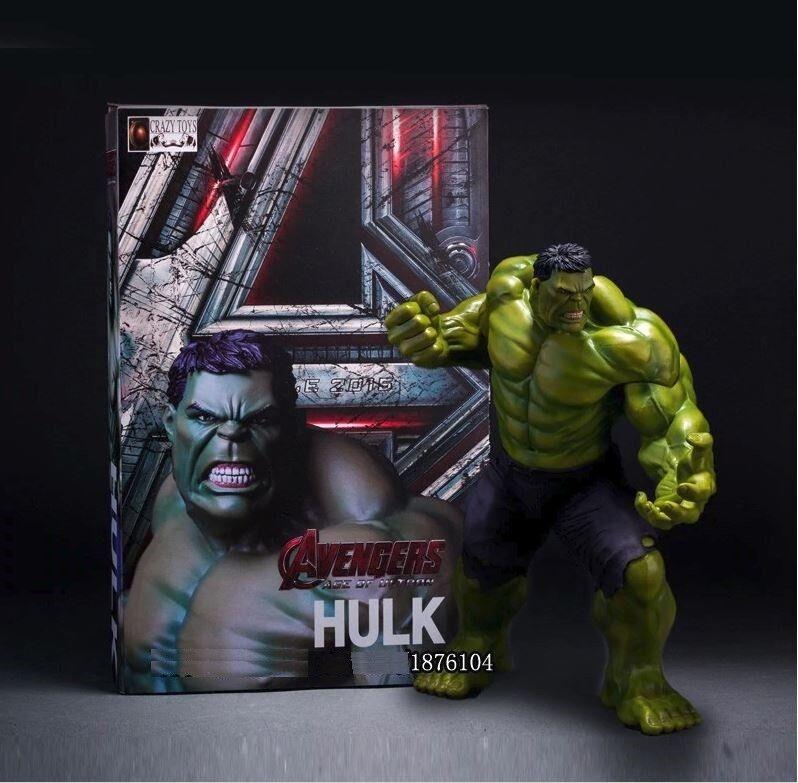 Figura Acción HULK - MARVEL Avengers edición coleccionista Action figure 25 cm