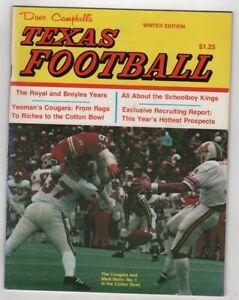 1977-Dave-Campbell-039-s-Texas-Football-Winter-Edition-Mark-Mohr-U-of-Houston