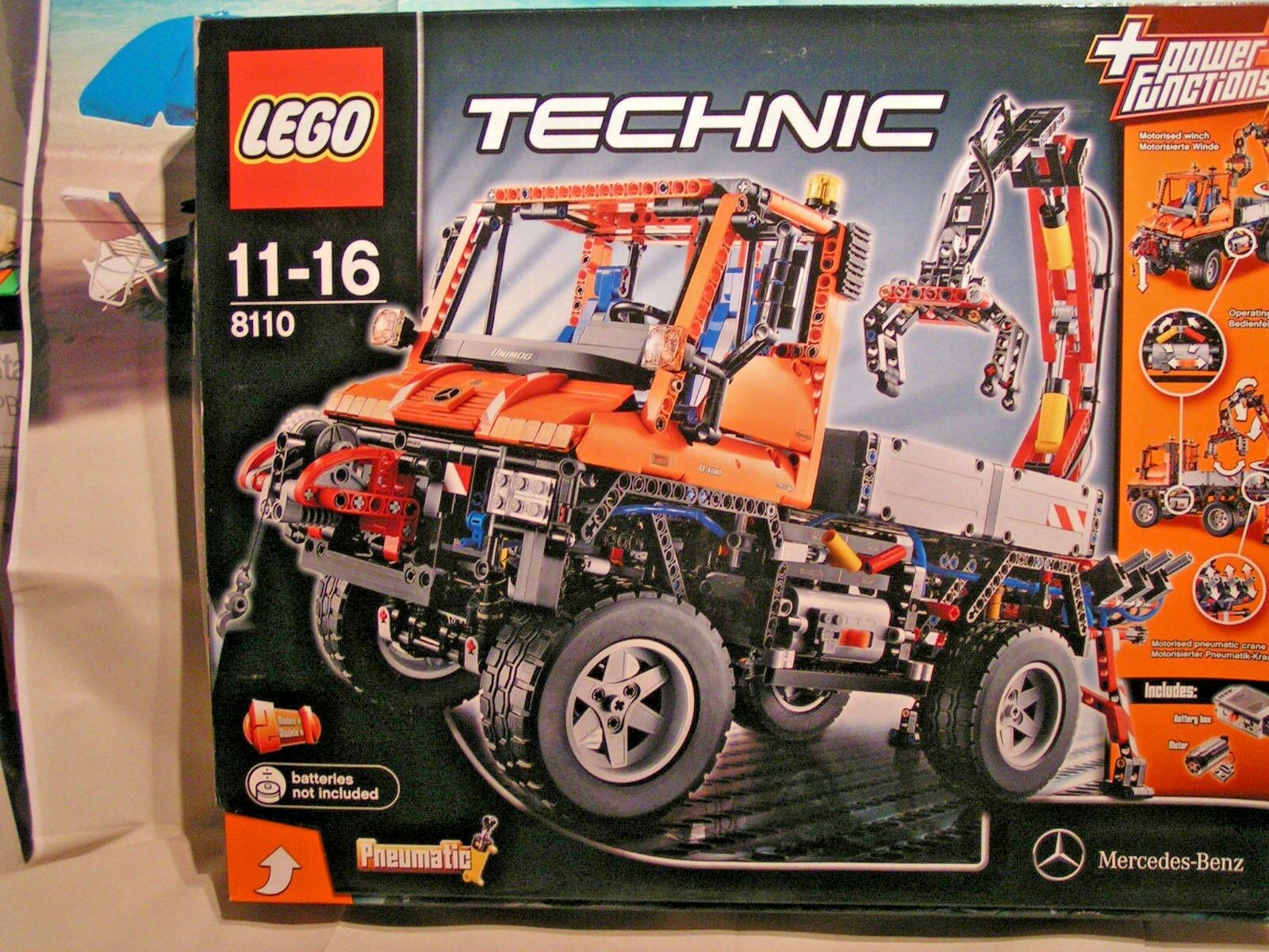 LEGO  TECHNIC  - TOUT TERRAIN MERCEDES-BENZ (POWER FUNCTIONS ref 8110)  COLLECTOR  promotions passionnantes