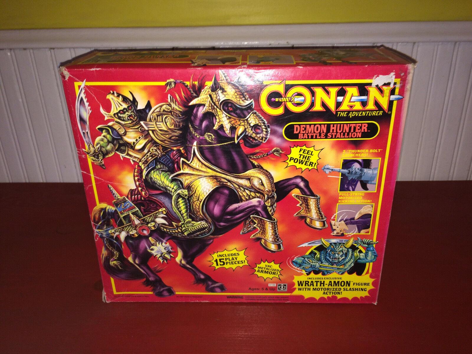 Conan The Adventurer Demon Hunter Battle Stallion 1992 Hasbro NIB