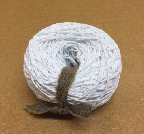 100 GMS 3 capas mumins hilado de algodón blanco Tejido A Mano//máquina de ganchillo//