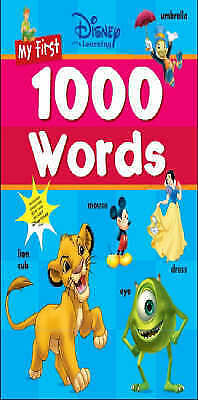 Disney: My First 1000 Words (Disney Learning), , Excellent Book