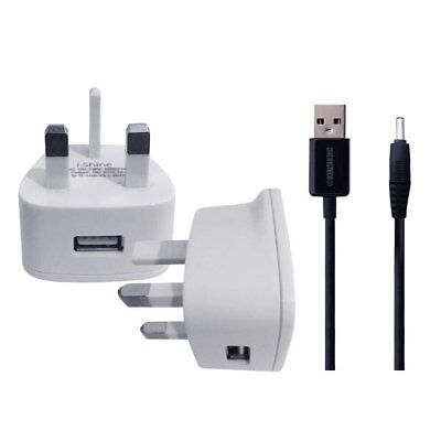 USB cable UK MAINS CHARGER FOR For ARCHOS platinum 101