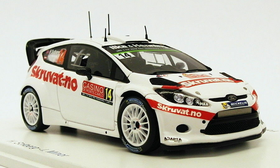 Spark 1 43 Scale S4509 - Ford Fiesta RS WRC  14 - 11th Monte Carlo 2015