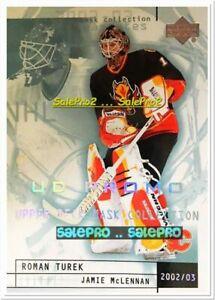 UPPER-DECK-MASK-COLLECTION-2002-ROMAN-TUREK-CALGARY-FLAMES-RARE-UD-PROMO-13