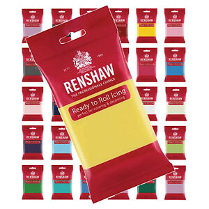 Renshaw-Ready-to-Roll-Sugarpaste-Colour-Cake-Fondant-Icing-Covering-Decorating