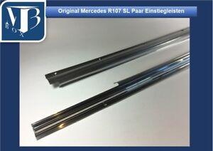 Dettagli su 5001/Originale Mercedes-Benz 107 SL nuova coppia di barre di  ingresso, (barra tappeto)- mostra il titolo originale