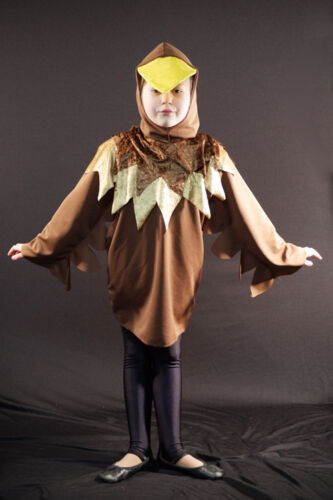 Ugly Duckling 01-Brown Easter Chick-WORLD BOOK DAY Stage Show-Costume ALL SIZES