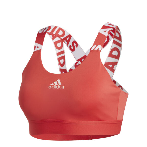 adidas performance Don't Rest Branded Sport-BH glory red
