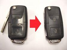 Repair service for VW Volkswagen remote flip key fob + new case