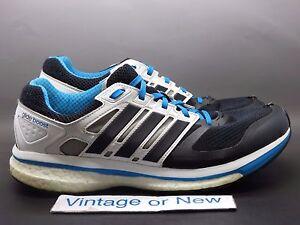 8e98e06469af9 Men s Adidas Supernova Glide 6 Boost Black White Blue Running F32276 ...