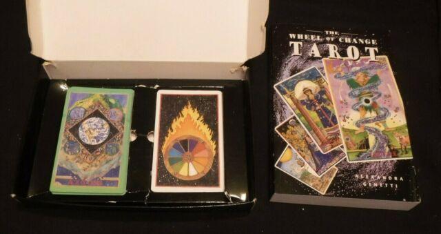 THE WHEEL OF CHANGE TAROT 79 Card Set With Book In Box Alexandra Genetti 1997