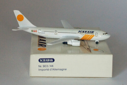 Schabak Airbus A300B4-120 Scanair 2nd version in 1:600 scale  in 1:600 scale