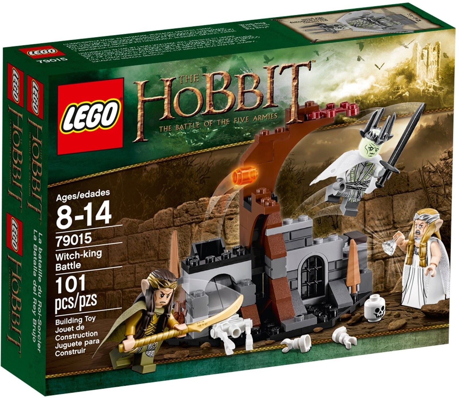 LEGO THE HOBBIT   79015 Witch-King Battle   RARE✔ BNIB✔ NEW✔ SEALED✔ FAST P&P✔