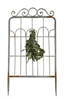 36 Rustic Farmhouse Metal Garden Fence Gate Wall Decor Or Yard Stake Trellis
