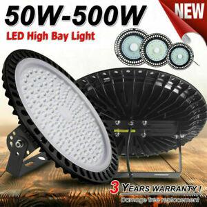LED Hallenbeleuchtung Industrielampe 150W 200W High Bay Werkstatt Hallenleuchte