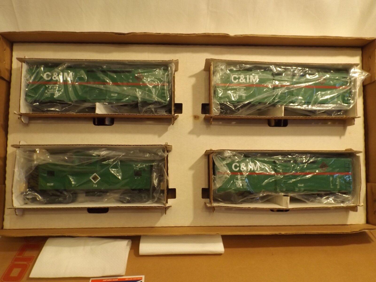 O conjunto de carga coche Lionel c&im cuatro en Caja Original, Raro