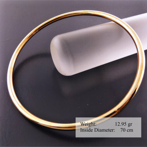 Bangle Bracelet 925 Sterling Silver S//F 18ct Gold G//F Solid Girl Baby Kids sizes